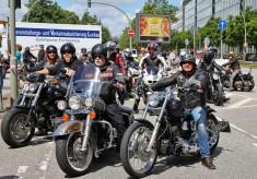 Harley-Fest in Hamburg