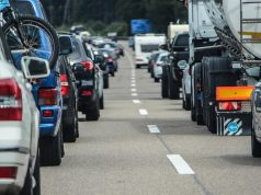 Stau auf Hamburgs Autobahnen