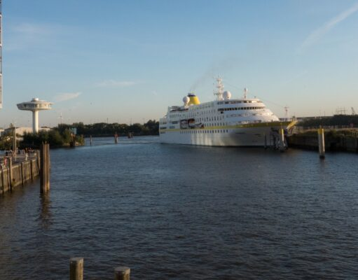Schiffsunglück in der Hafencity