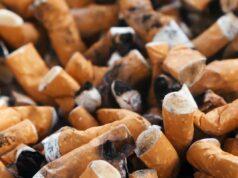 Zigaretten wegwerfen